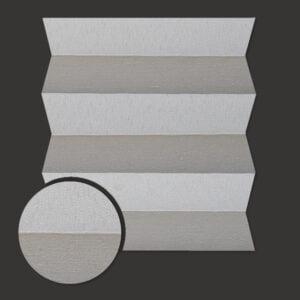 Roleta plisowana Materiał Brix 1109 - jasny szary