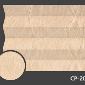 Roleta plisowana Materiał Kamari Pearl 205