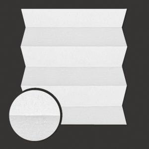 Roleta plisowana Materiał Brix 1100 -biały